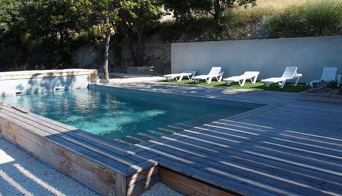 Gîte Drôme vignoble piscine